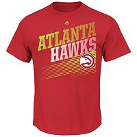 Men's Majestic Atlanta Hawks Winning Tactic Tee