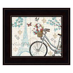 Paris Tour II Framed Wall Art