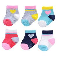 Baby Carter's 6-pk. Socks