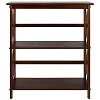 Casual Home Montego 3-Shelf Bookcase