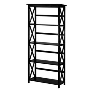Casual Home Montego 5-Shelf Bookcase