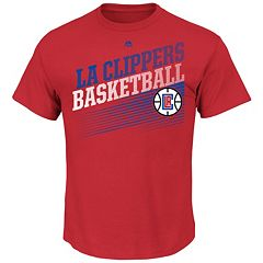 Men's Majestic Los Angeles Clippers Winning Tactic Tee