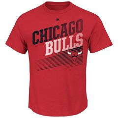 Men's Majestic Chicago Bulls Winning Tactic Tee