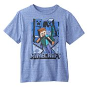 Boys 8-20 Minecraft Vintage Battle Creeper Tee