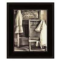 Laundry Framed Wall Art