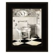 Victorian Bathroom Framed Wall Art