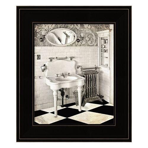 Victorian Bathroom Framed Wall Art