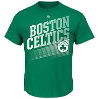 Men's Majestic Boston Celtics Winning Tactic Tee