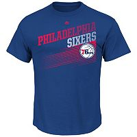 Men's Majestic Philadelphia 76ers Winning Tactic Tee