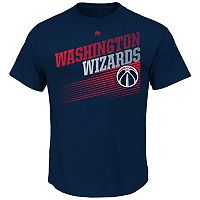 Men's Majestic Washington Wizards Winning Tactic Tee