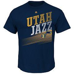 Men's Majestic Utah Jazz Winning Tactic Tee