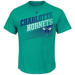 Men's Majestic Charlotte Hornets Winning Tactic Tee