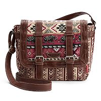 Unionbay Tribal Elephant Messenger Bag