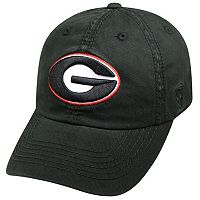Youth Top of the World Georgia Bulldogs Crew Baseball Cap