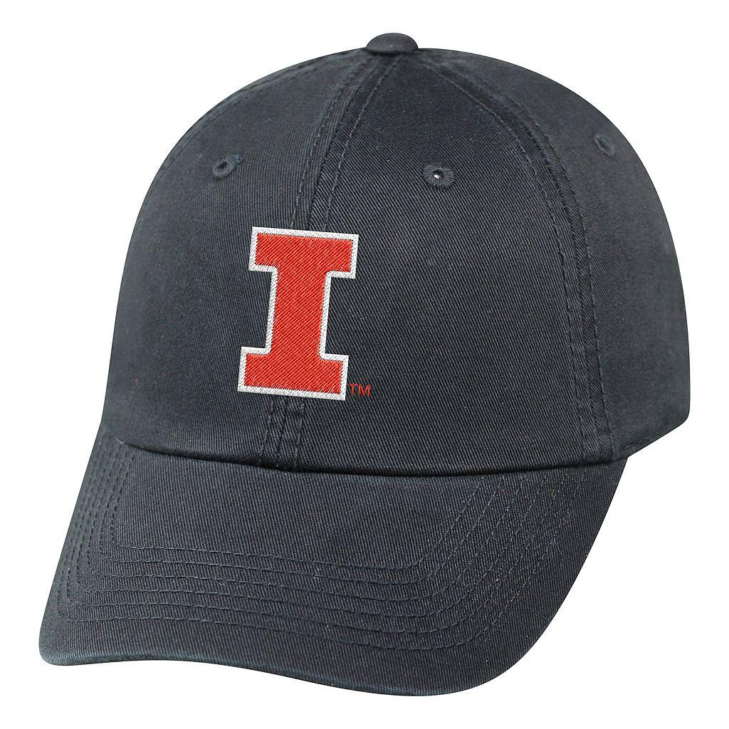 Youth Top of the World Illinois Fighting Illini Crew Baseball Cap