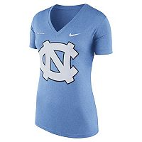 Women's Nike North Carolina Tar Heels Striped Bar Tee