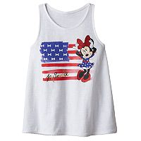 Disney's Minnie Mouse Girls 4-10 Americana Tank Top by Jumping Beans®