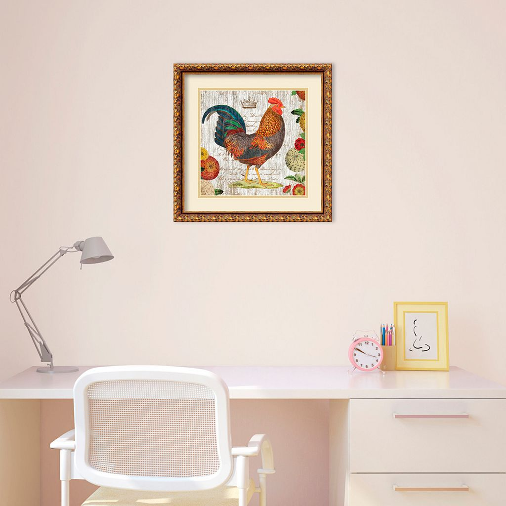 Amanti Art Rooster I Framed Wall Art