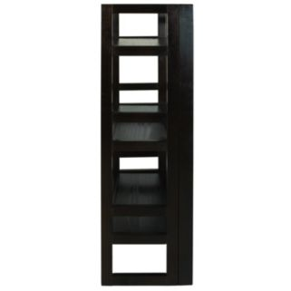Casual Home 3-Shelf Folding Student Bookcase