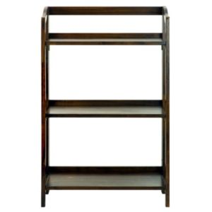 Casual Home Stratford 3-Shelf Folding Bookcase