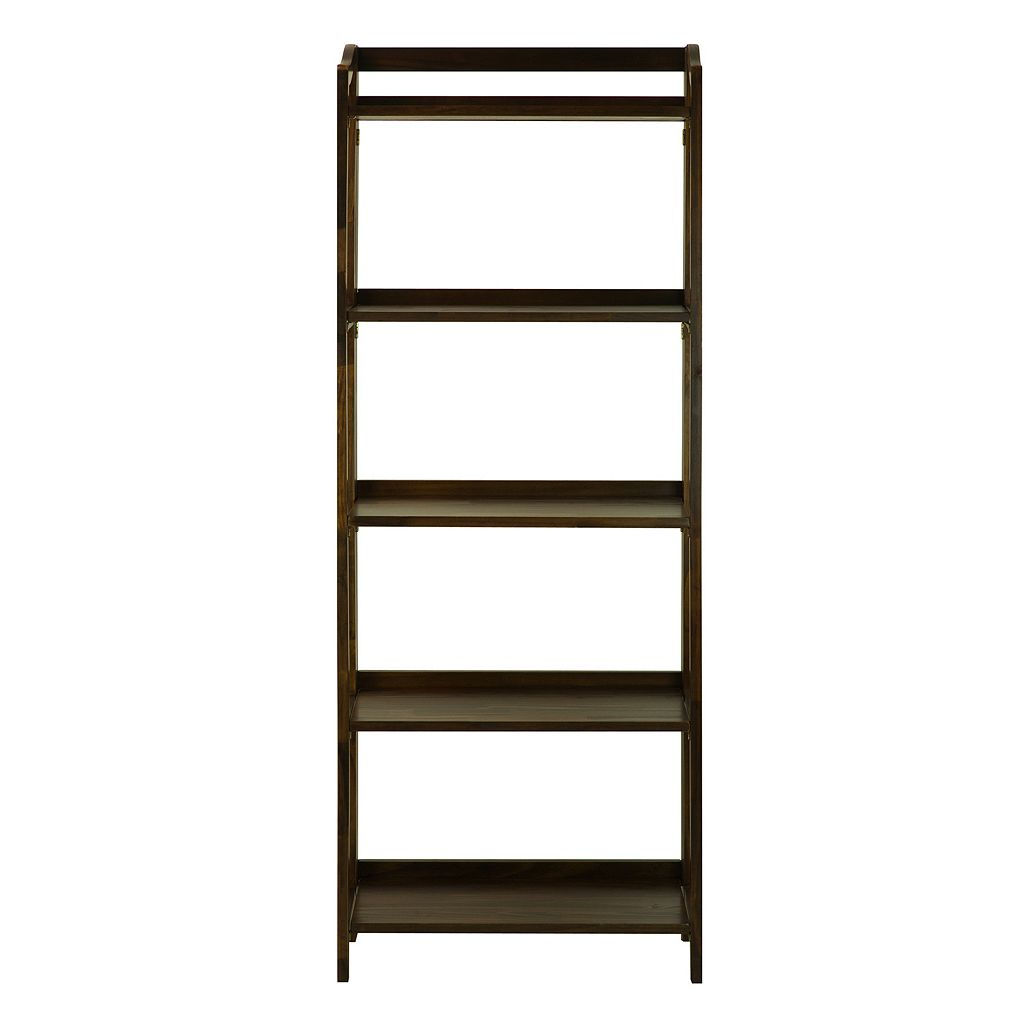 Casual Home Stratford 5-Shelf Folding Bookcase