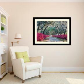 Amanti Art Azaleas, Bonaventure Framed Wall Art