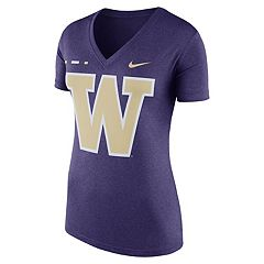 Women's Nike Washington Huskies Striped Bar Tee