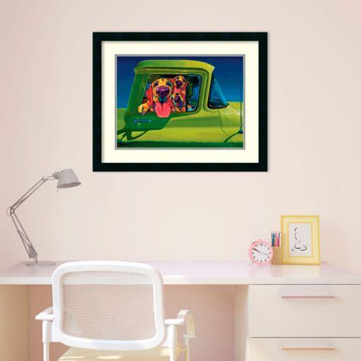 Amanti Art I Wanna Go! Framed Wall Art