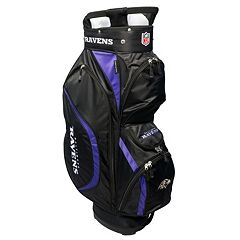 Team Golf Baltimore Ravens Clubhouse Golf Cart Bag