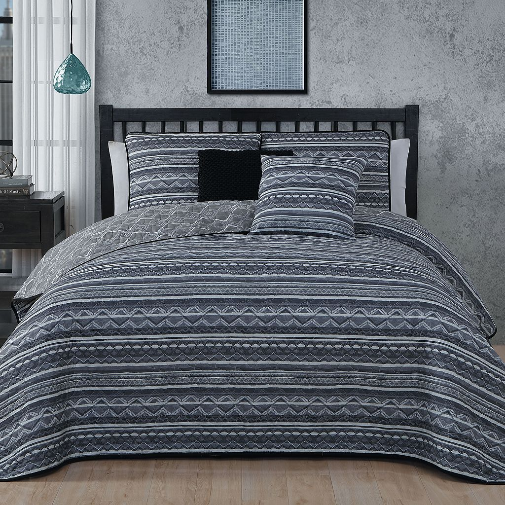 Avondale Manor 5-piece Meridian Quilt Set