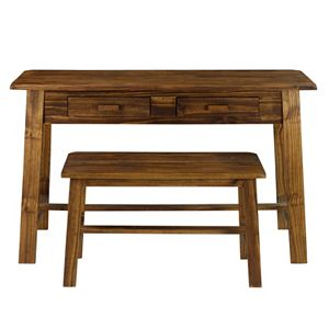 Casual Home Rustic Console & Bench
