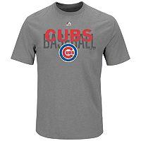 Big & Tall Majestic Chicago Cubs Baseball Tee