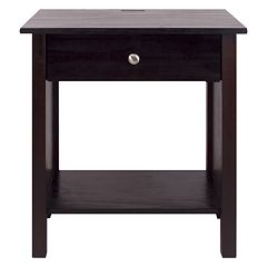 Casual Home Vanderbilt Night Stand with USB Port