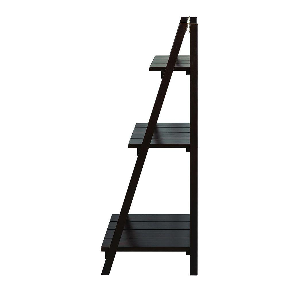 Casual Home Manhasset Slatted 3-Shelf Folding Bookcase