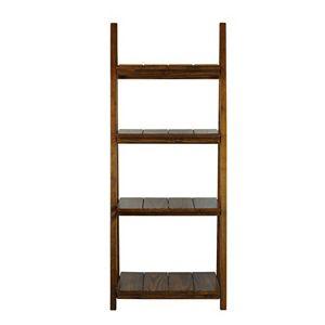 Casual Home Manhasset Slatted 4-Shelf Folding Bookcase