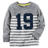 Boys 4-8 Carter's Raglan Striped Tee