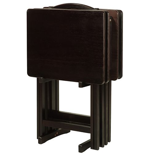 Casual Home TV Tray Table 5-piece Set