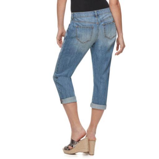 Petite Jennifer Lopez Boyfriend Jeans