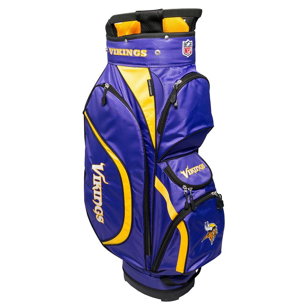 Team Golf Minnesota Vikings Clubhouse Golf Cart Bag