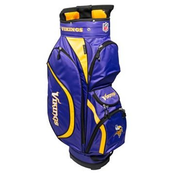 Team Golf Minnesota Vikings Clubhouse Golf Cart Bag