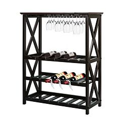 Casual Home Montego 18-Bottle Wine Rack by