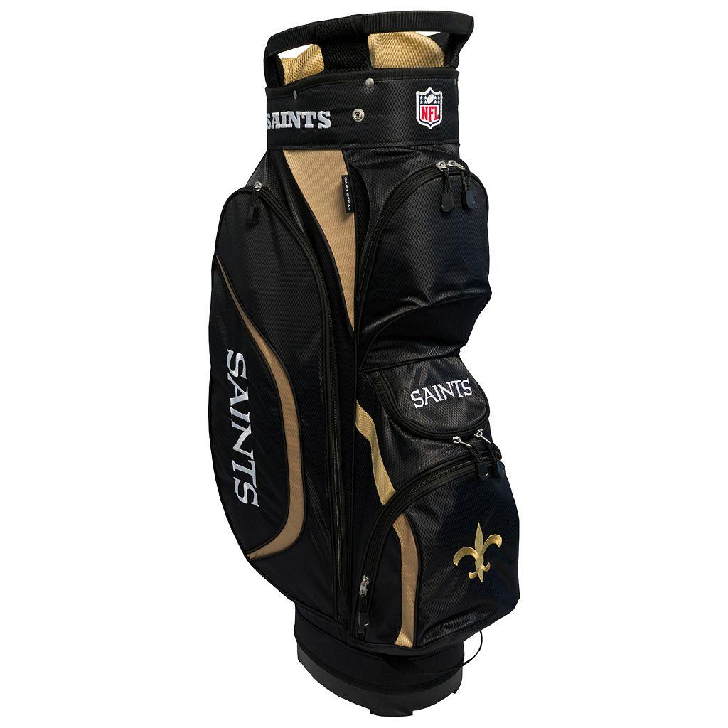 Team Golf New Orleans Saints Clubhouse Golf Cart Bag