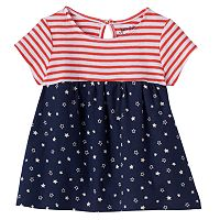 Toddler Girl Jumping Beans® Patriotic Babydoll Tunic