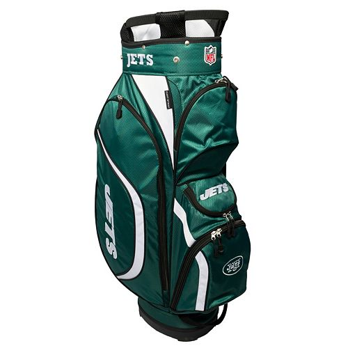 Team Golf New York Jets Clubhouse Golf Cart Bag