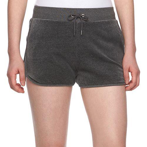 Women s Juicy Couture Velour Shorts 10ee1edbf