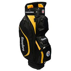 Team Golf Pittsburgh Steelers Clubhouse Golf Cart Bag
