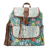 Unionbay Flower Lace Backpack