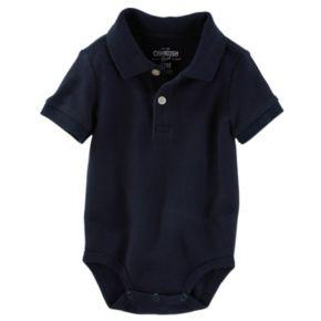 Baby Boy OshKosh B'gosh® Pique Polo Bodysuit