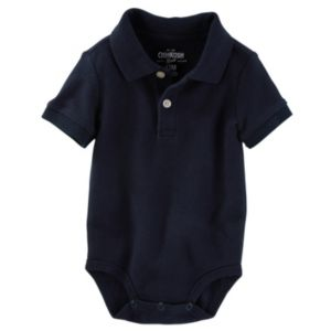 Baby Boy OshKosh B'gosh® Pique Polo Bodysuit