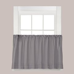 Saturday Knight, Ltd. Holden Tier Kitchen Window Curtain Set